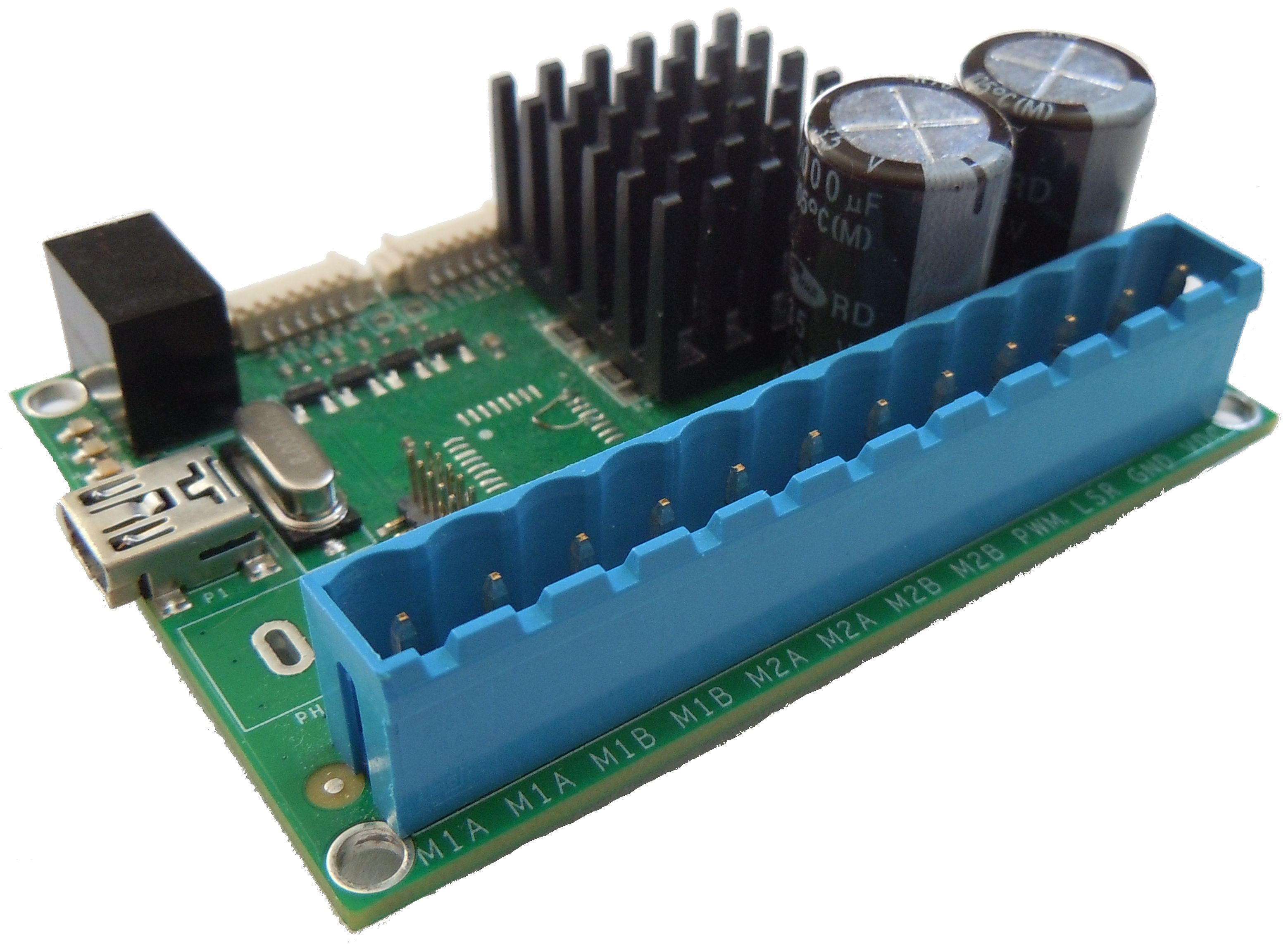 Usb Stepper Motor Controller With Dsp Isolation Micro Stepping Drivers Electronics